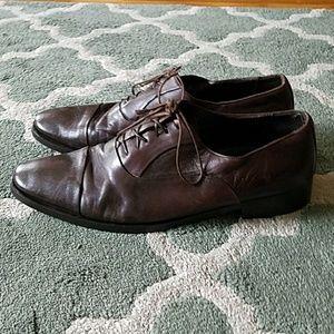 BRUNO MAGLI Brown Dress Shoes Sz 11